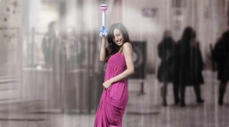 Қытайлық студенттер «көрінбейтін» қолшатыр ойлап тапты