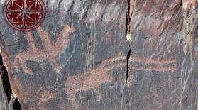 Орталық Қазақстандағы таңбалы тастар (видео)