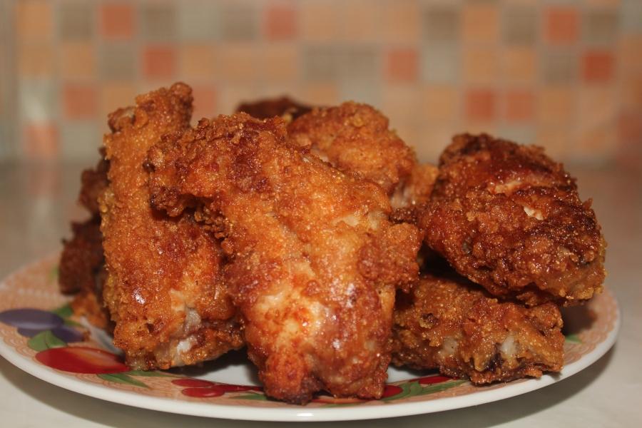 Массагеттен мәзір: Үй жағдайында дайындалған KFC