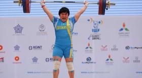 Қазақ қызы әлем чемпионатының күміс жүлдегері атанды