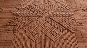 Шоколадтан жасалған кілемше