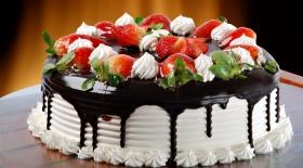 Торттың дәмін келтіру үшін...