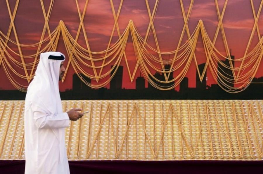 Дубайда ұзындығы 5 шақырымды құрайтын алтын алқа жасалды