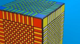 Әлемдегі ең үлкен Кубик Рубикті жинауға 7,5 сағат кетеді