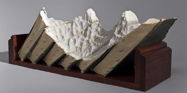 Кітаптан жасалған табиғат көрінісі