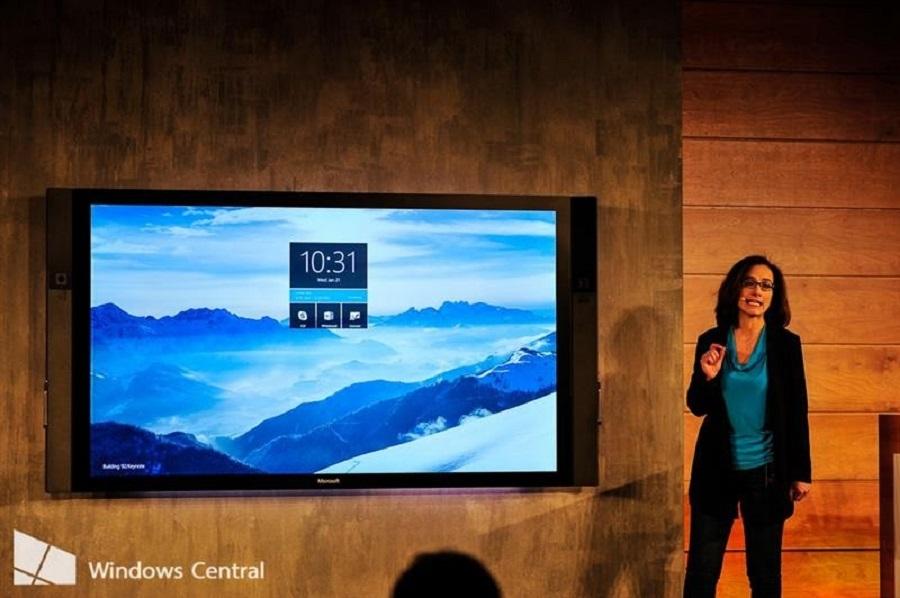 Microsoft Surface Hub – 84-дюймді планшет