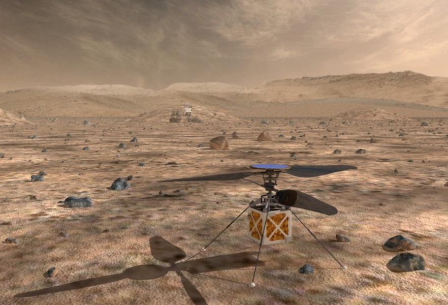 Ғалымдар Марсты зерттеуге тікұшақ дайындайды