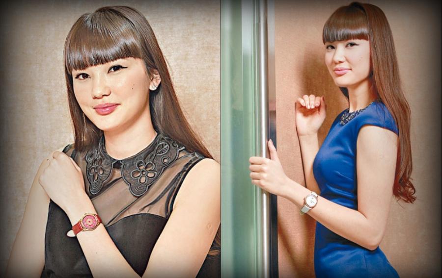 Сабина Алтынбекова сағат жарнамасына түсті (фото)