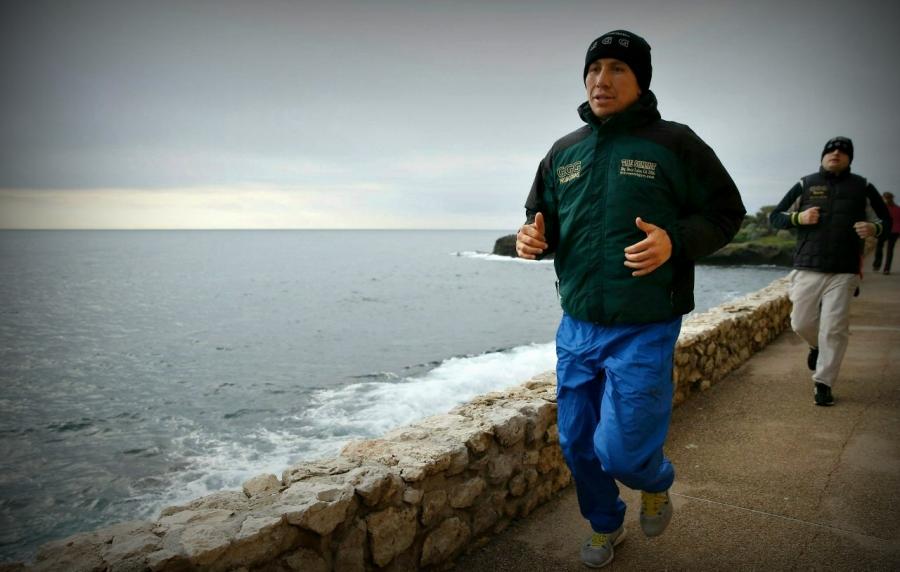 Геннадий Головкин Монакодағы жаттығуын бастады (видео)