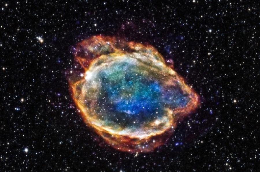 Астрономдар жарылған жұлдыздың қалдықтарын тапты