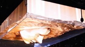 Лас-Вегастағы түнгі клубтың бірінде 3D иллюзия пайда болды