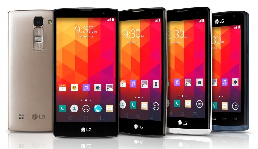 LG төрт жаңа смартфонын таныстырды