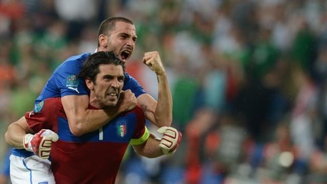 Италия құрамасы жартылай финалда