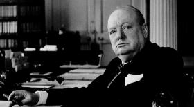 Уинстон Черчилль. Жазудың рахаты
