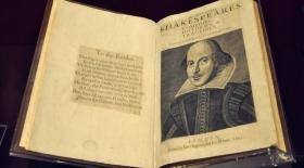 Шекспирдің «Бірінші Фолио» пьесалар жинағы Лондонға әкелінді