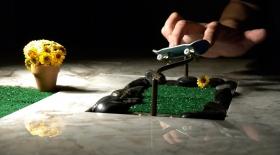 Саусақпен сырғанайтын скейтборд туралы естіп пе едіңіз? (видео)