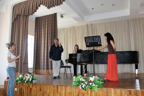 Итальяндық маэстро консерваторияда мастер-класс өткізді