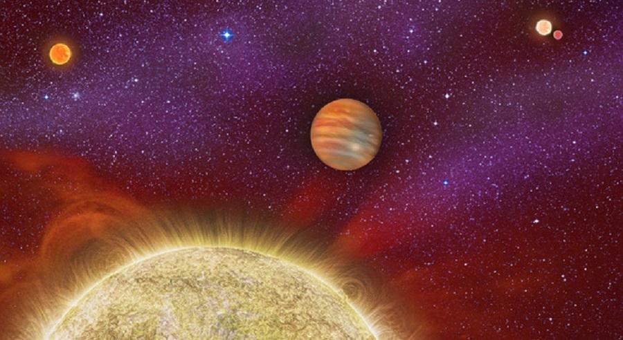 Төрт жұлдызы бар экзоғаламшар анықталды