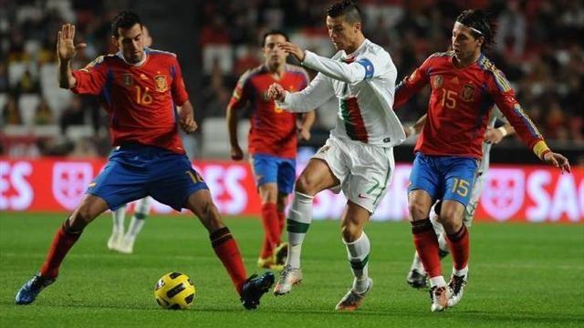 Испания - Португалия. Кім мықты?