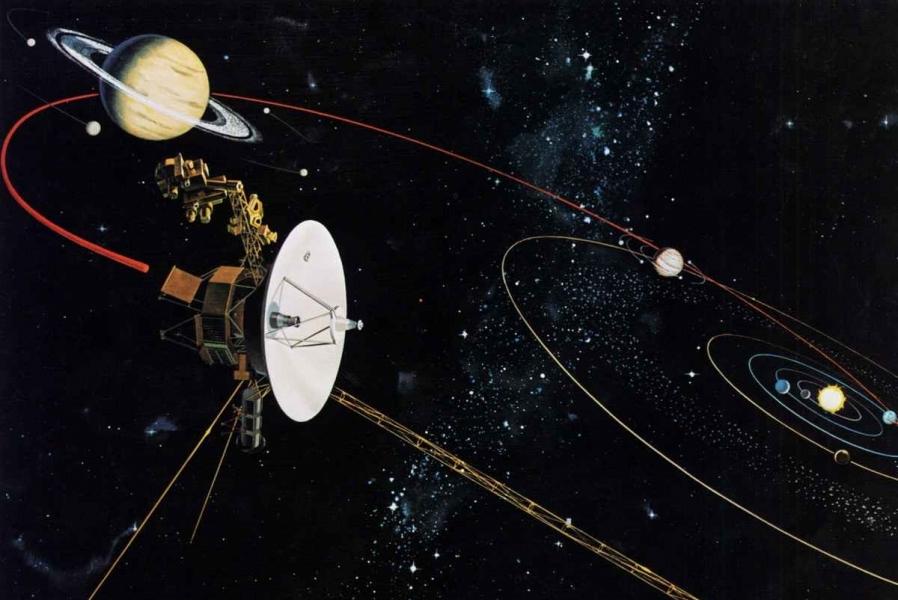 Вояджер – ғаламдағы ең жылдам ғарыш аппараты