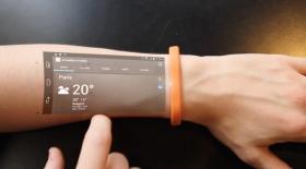 Жаңа смарт-білезік смартфонның орнын басады (Видео)