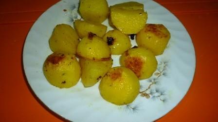 Мәзір: Пісіру пешіндегі картоп