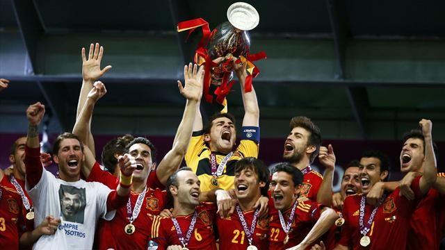 Испания құрамасы - әлемдік футболдың көшбасшысы!