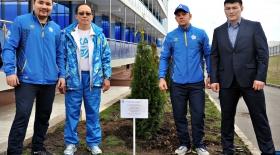Алматыдағы AIBA академиясында «Чемпиондар аллеясы» ашылды