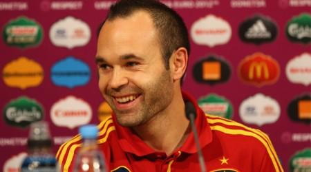 Андрес Иньеста - Еуро-2012 турнирінің ең үздік ойыншысы