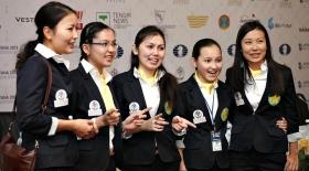 Қазақстандық шахматшы қыздар командалық әлем чемпионатына аттанды