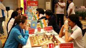Қазақстандық шахматшы қыздар әлем чемпионатын жеңіспен бастады
