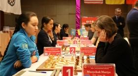 Қазақстандық шахматшы қыздар әлем чемпиондарына есе жіберді