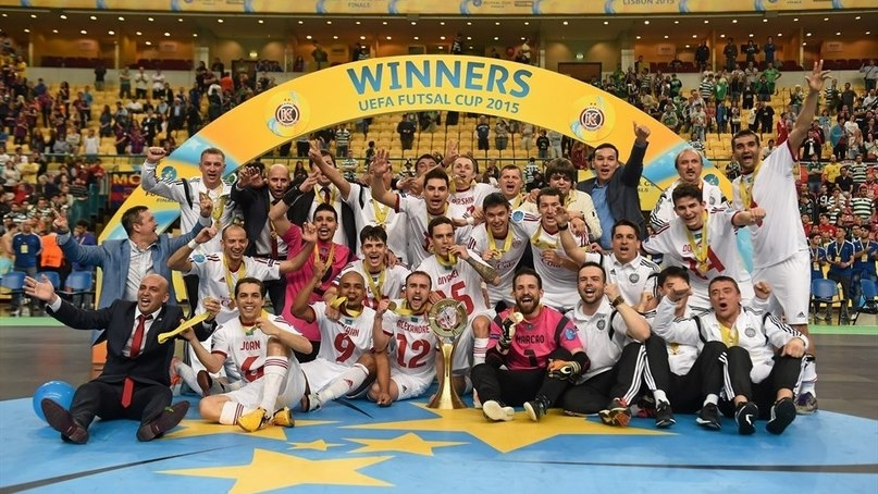 «Қайрат» футзал клубы УЕФА кубогын жеңіп алды