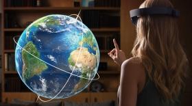 Microsoft HoloLens гарнитурасы қандай мүмкіндікке ие? (Видео)
