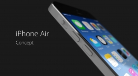Ультражұқа iPhone Air концепті (видео)