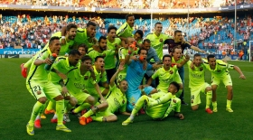 «Барселона» Испания чемпионы атанды