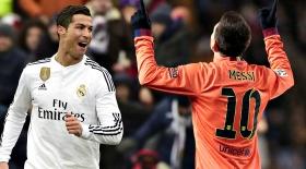 Роналду мен Мессидің Испания чемпионатында соққан голдары (видео)