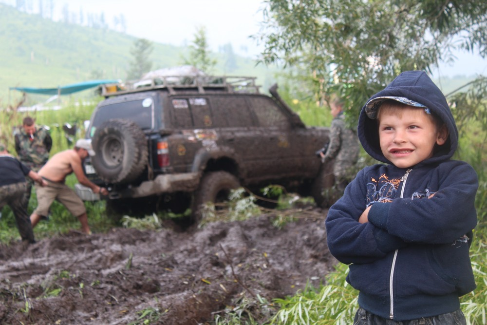 Алтай фестивалінде Джип көліктері туралы ертегі пайда болды