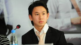 Денис Тен Қазақстанның 2022 жылғы Олимпиадаға ұсынысын таныстырады