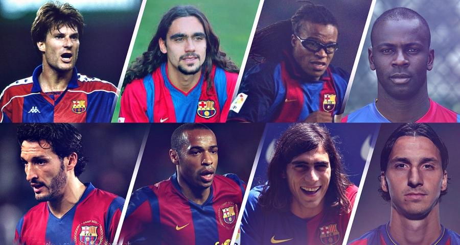 «Ювентуста» да «Барселонада» да ойнаған футболшылар