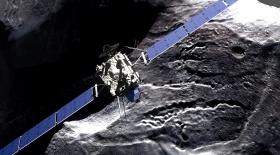 Rosetta кометадан судың қатты күйін тапты