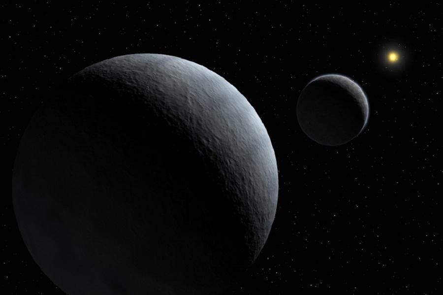 Плутонның ең үлкен спутнигі суретке түсірілді