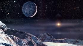 Плутонның сыртқы қабаты жақыннан суретке түсірілді