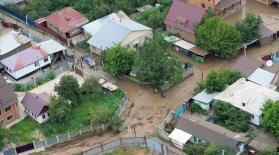Куәгерлер Алматыдағы сел жайында айтып берді