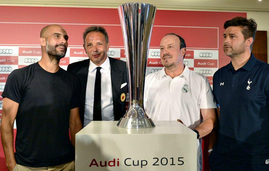 Қазақстандықтар «Audi Cup 2015» футбол додасын тікелей эфирде тамашалай алады