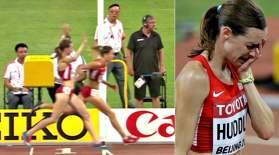 Ерте қуанған спортшы жүлдесіз қалды (видео)