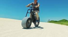 Жол талғамайтын электрлі велосипед құрастырылды