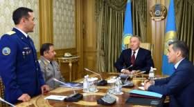 Назарбаев Айдын Айымбетовке телефон арқылы сәттілік тіледі