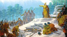 Жараланған Абылай ханды құтқарған Жауғаш батыр
