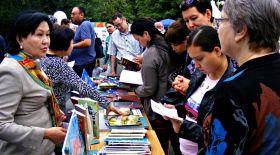 Алматыда «Кітапфест» республикалық кітап фестивалі өтті